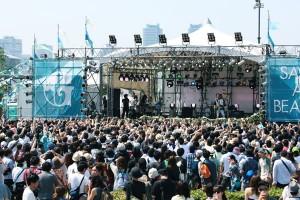 春フェス「GREENROOM FESTIVAL」の模様(1)