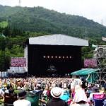 夏フェス「FUJI ROCK FESTIVALイメージ画像